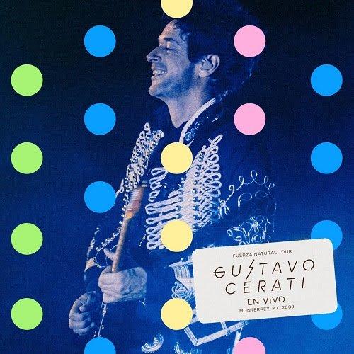 El concierto del ícono del rock en español: FUERZA NATURAL TOUR GUSTAVO CERATI EN VIVO EN MONTERREY, MX, 2009 está disponible ahora