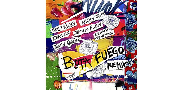 """MAU Y RICKY estrenan remix de su éxito """"BOTA FUEGO"""""""