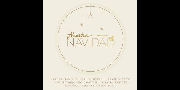 Ya está disponible en todas las plataformas digitales el audio y video de NUESTRA NAVIDAD el álbum perfecto para la época más esperada del año