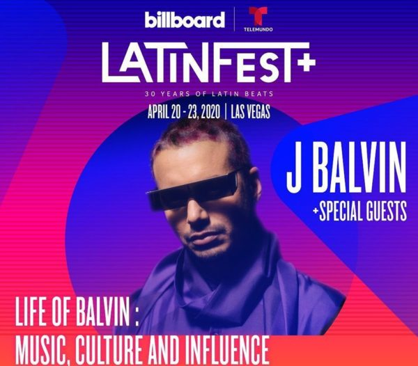 LATINFEST PLUS REEMPLAZA LA BILLBOARD LATIN MUSIC WEEK