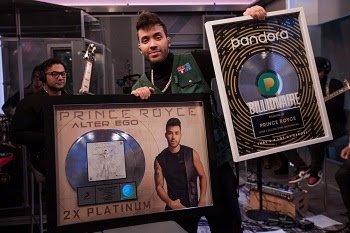 PRINCE ROYCE debuta en el #1 de los listados Top Latin Albums, Latin Album Sales y Tropical Albums De Billboard con ALTER EGO