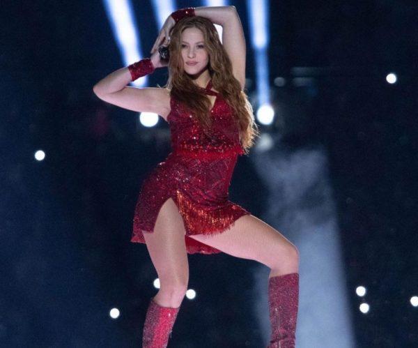 Shakira, brilló y deslumbró en el Super Bowl 2020
