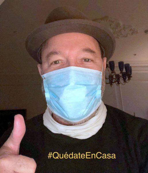 Por el Coronavirus Ruben Blades escribe su Diario de la Peste