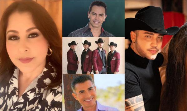 Arelys Henao, Calibre 50, Jessi Uribe, Jhonny Rivera y Fernando Gil los artistas populares de la semana