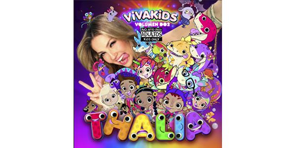 THALIA crea un universo mágico con el lanzamiento de su segundo disco para niños, VIVA KIDS VOL. 2