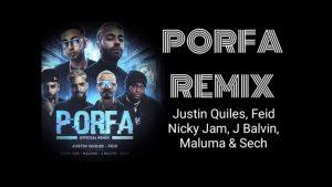 """Feid lanza """"Porfa Remix"""" juanto a grandes estrellas urbanas de la música latina."""