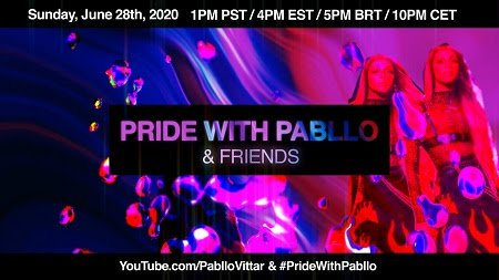 "PABLLO VITTAR anuncia ""PRIDE WITH PABLLO & FRIENDS"""