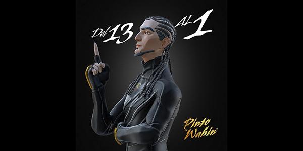 """PINTO """"WAHIN"""" lanza su álbum debut DEL 13 AL 1"""