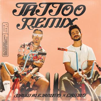 """RAUW ALEJANDRO presenta el remix de su más reciente éxito internacional junto a CAMILO, """"TATTOO – REMIX"""""""