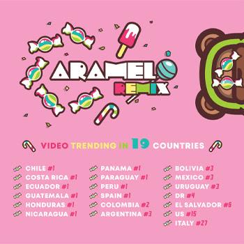 """""""CARAMELO"""" de OZUNA es #1 en el listado de Latin Airplay de Billboard por segunda semana consecutiva"""
