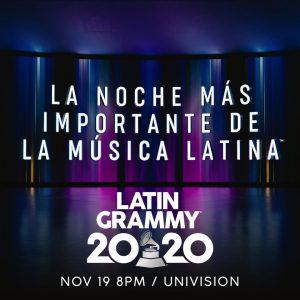 Nuevo formato en los Latin Grammy 2020
