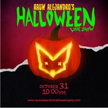 RAUW ALEJANDRO presenta su Virtual Halloween Show este 31 de octubre a las 10 p.m.