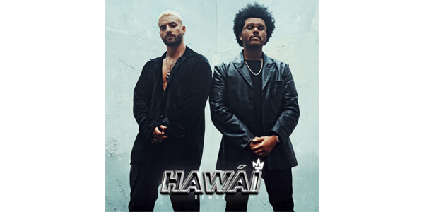 "MALUMA y THE WEEKND lanzan ""HAWÁI (REMIX)"""