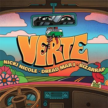 """NICKI NICOLE reúne a DREAD MAR I & BIZARRAP para compartir la buena vibra en su sencillo y video """"VERTE"""""""
