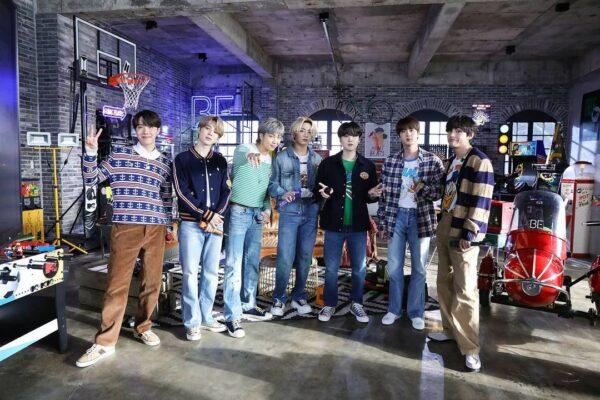 Histórica presentación de BTS en el desconectado de MTV con sus canciones Telepathy y Fix You