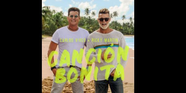 """CARLOS VIVES y RICKY MARTIN los artistas ganadores del GRAMMY® lanzan """"CANCIÓN BONITA"""""""