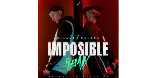 """Lee más sobre el artículo BLESSD presenta """"IMPOSIBLE REMIX"""" junto a la superestrella mundial MALUMA"""