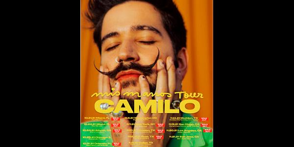 Lee más sobre el artículo CAMILO agota todas las entradas de su primera gira nacional MIS MANOS TOUR