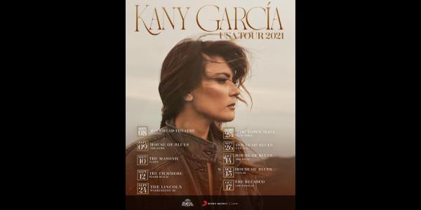 Lee más sobre el artículo KANY GARCÍA anuncia su gira de concierto por los Estados Unidos