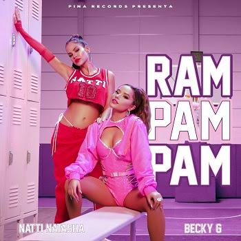 """NATTI NATASHA logra su segundo No. 1 de 2021 en la radio latina de Estados Unidos y Puerto Rico con su hit del verano """"RAM PAM PAM"""" con BECKY G"""