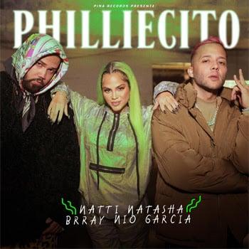 """NATTI NATASHA sorprende con su nuevo sencillo """"PHILLIECITO"""" junto a NIO GARCÍA y BRRAY"""