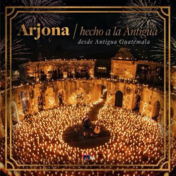 RICARDO ARJONA estrena HECHO A LA ANTIGUA nuevo álbum en vivo