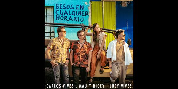 """Lee más sobre el artículo CARLOS VIVES & MAU Y RICKY conectan a Colombia y Venezuela en su primera colaboración juntos, """"BESOS EN CUALQUIER HORARIO"""""""