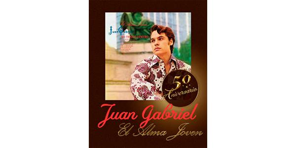 Lee más sobre el artículo El Estate de JUAN GABRIEL en colaboración con Sony Music México celebra los 50 años de JUAN GABRIEL #ElDivodeJuárez y de su álbum debut El Alma Joven