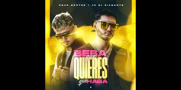 """Lee más sobre el artículo OMAR MONTES junto a JC EL DIAMANTE realizan colaboración rítmica con su sencillo y video """"BEBA QUE QUIERES QUE HAGA"""""""
